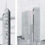 Sieger des Ideen- und Realisierungswettbewerbes 1994: Platz 1 von Vittorio Gregotti Associati und Platz 3 vom Architekturbüro Angela Wandelt