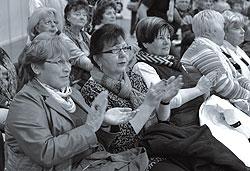 """Begeistertes Publikum auf der Messe """"Die 66"""" in Leipzig"""