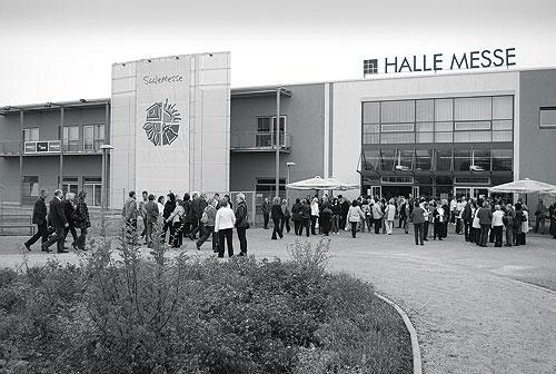 Saalemesse 2012 in Halle (Saale), größte Verbrauchermesse Sachsen-Anhalts